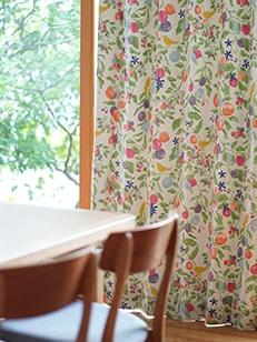 カーテン通販専門店cucan オーダーカーテン DESIGN LIFE 施工イメージ02
