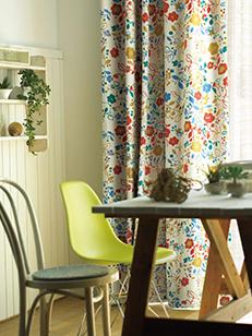 カーテン通販専門店cucan オーダーカーテン NEXT HOME 施工イメージ01