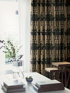 カーテン通販専門店cucan オーダーカーテン Ivana Helsinki イヴァナヘルシンキ 施工イメージ03