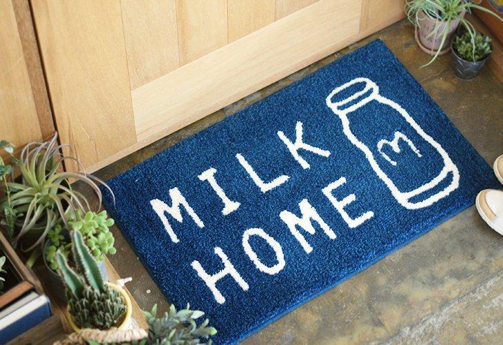 ミルクホーム ブランド ロゴマット