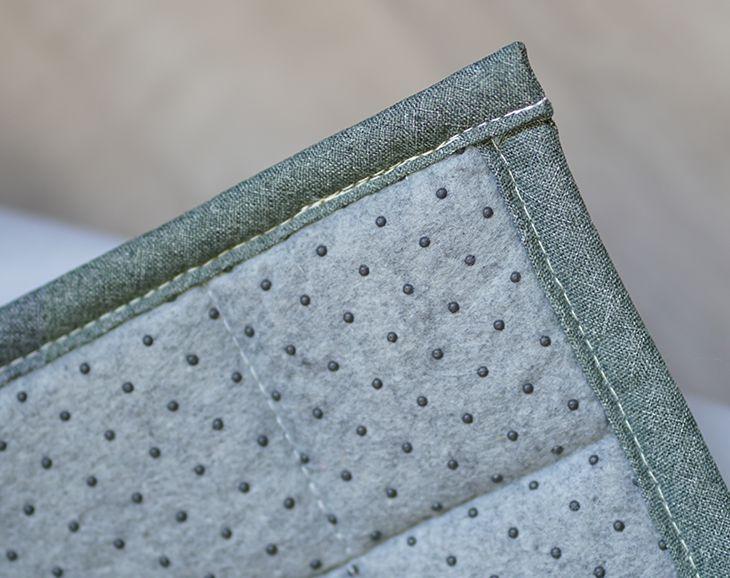 接触冷感ラグ クールフィール(130×185cm) おしゃれポイント