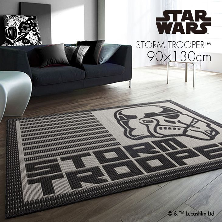 �X�^�[�E�E�H�[�Y ���O STORM TROOPER SIDE�i90�~130cm�j
