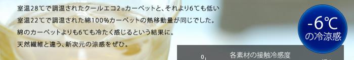 ����28���Œ������ꂽ�N�[���G�R2R�J�[�y�b�g�ƁA������6�����Ⴂ����22���Œ������ꂽ��100%�J�[�y�b�g�̔M�ړ��ʂ������ł����B�Ȃ̃J�[�y�b�g����6�����₽��������Ƃ������ʂɁB�V�R�@�ۂƈႤ�A�V�����̗��������ЁB
