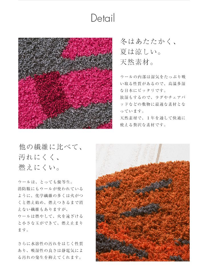 鈴木マサル×NEXT HOME COLLABORATION DESIGN RUG(ラグ マット)詳細 DETAIL