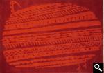 HOROHORO/RED、ホロホロ/レッド、約140×200cm