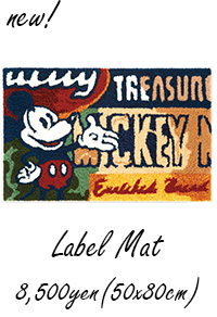 MICKEY / Label Mat