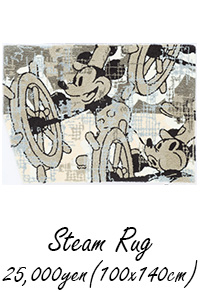 MICKEY / Steam Rug