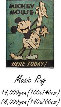 MICKEY / Music Rug
